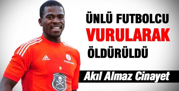 Ünlü Futbolcu Vurularak Öldürüldü