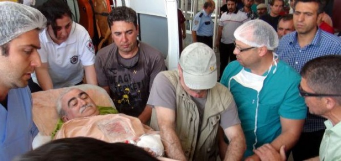 Ünlü kalp cerrahına silahlı saldırı
