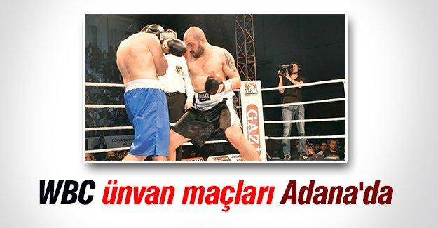 WBC ünvan maçları Adana'da
