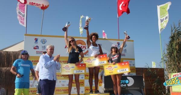 Wındsurf Dünya Kupası Şampiyonu Quentel Ve Offringa
