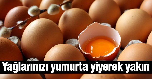 Yağlarınızı yumurta yiyerek yakın