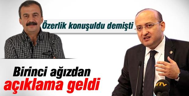 Yalçın Akdoğan: Özerklik konuşulmadı