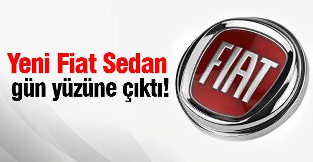 Yeni Fiat Sedan gün yüzüne çıktı!