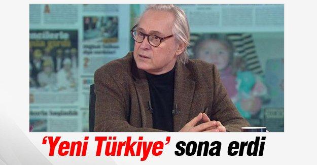 'Yeni Türkiye' programı sona erdi