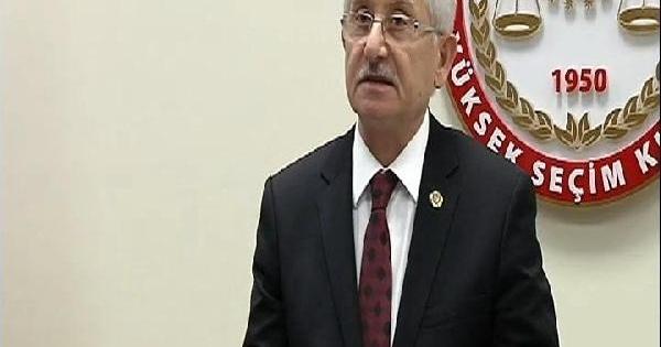 Ysk Başkanı Güven: Oyların Salt Çoğunluğunu Erdoğan'ın Aldığı Anlaşılmaktadır