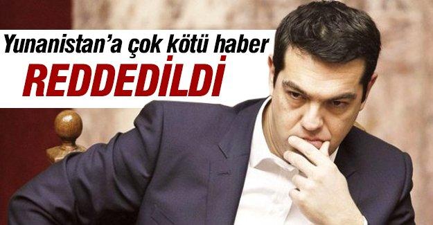 Yunanistan'a çok kötü haber!