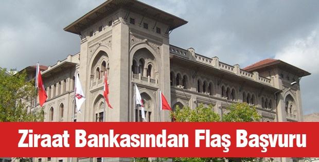 Ziraat Bankasından Flash Başvuru