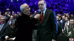 Erdoğan okudu, büyük alkış aldı