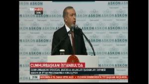Erdoğan: Lafla Türkiye partisi olunmaz